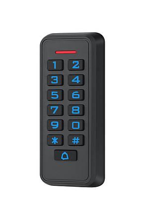 Контроллер + считыватель с кодовой клавиатурой SEVEN CR-7465, фото 2