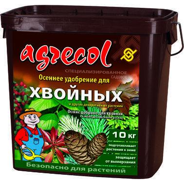 Удобрение Agrecol осеннее для хвойных, 10 кг.