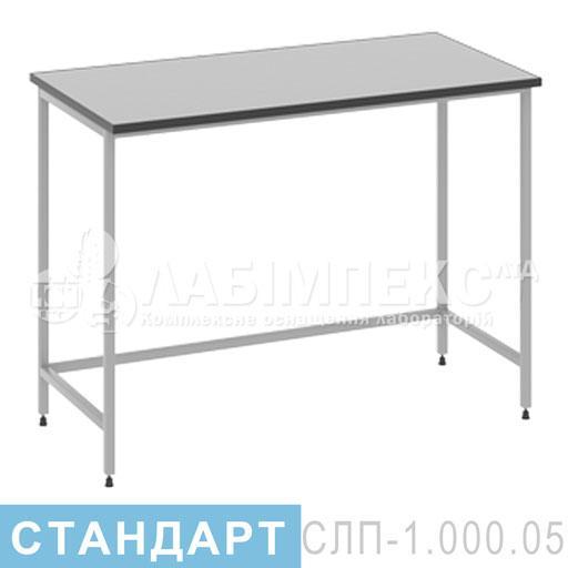Стол лабораторный пристенный СЛП-1.000.05