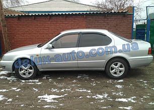 Ветровики Cobra Tuning на авто Toyota Camry Sv40 Sd 1994-1998 Дефлекторы окон Кобра для Тойота Камри в40 1994