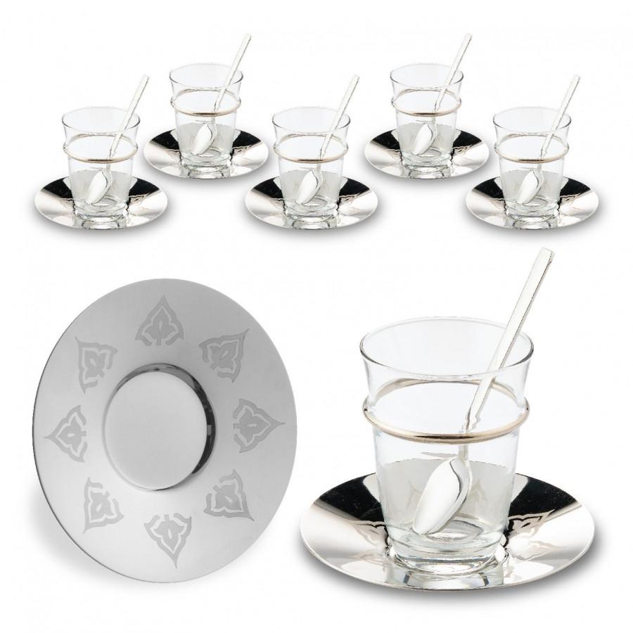 Набор чайных стаканов Doreline Восточный c кантом на 6 персон