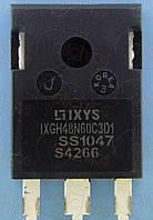 IGBT NPN 600В 48А Ixys IXGH48N60C3D1 TO247