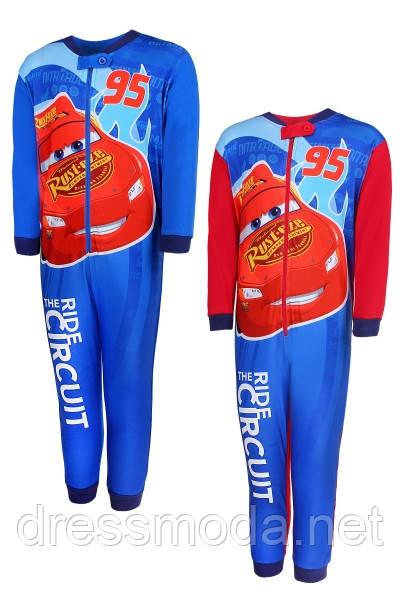 Пижама-человечек  для мальчиков Cars,98-128р.р