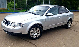 Дефлекторы окон, ветровики Audi A4 sedan (B6/B7/8E) 2000-2008 VL-Tuning