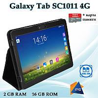 """Недорогой Планшет-Телефон Galaxy Tab SC1011 4G 10.1"""" IPS 16GB ROM GPS + Чехол-книжка + Карта 32GB"""