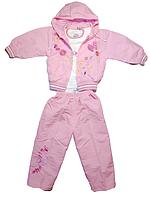 Куртка для девочки весенняя  штаны и кофта  на рост 84-92 см(1-1.5г) Cone4ko