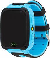 Atrix Smart Watch iQ1400 Cam Flash GPS Blue (iQ1400 Blue)