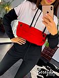 Женский спортивный костюм с лампасами (в расцветках), фото 3