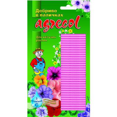 Удобрение Agrecol в палочках для цветущих растений с витамином С, 30 шт.