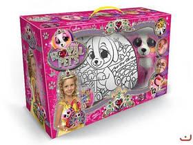 Набор  ROYAL PET S , сумочка-раскраска + игрушка  Собачка  RP-01-02U