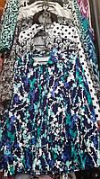 Женский трикотажный пиджак больших размеров в расцветках