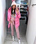 Женская зимняя куртка-одеяло с капюшоном vN2399, фото 3