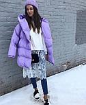Женская зимняя куртка-одеяло с капюшоном vN2399, фото 4