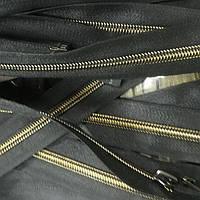 Змейка пластик р, 75 темный антик