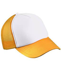 Детская кепка MWGY Белый / Золотой Желтый