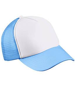 Детская кепка Белый / Голубой