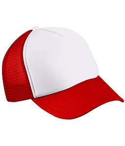 Детская кепка Белый / Красный