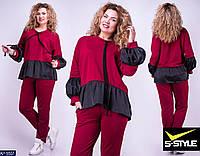 Женский спортивный костюм новинка 48 50 52 54 размер Новинка есть цвета