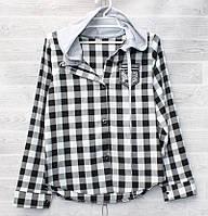 """Рубашка подростковая с капюшоном на девочку 134-152 см (2цв) """"SmartKid"""" купить недорого от прямого поставщика"""