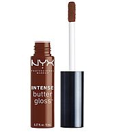 NYX Блеск Intense butter gloss №18 (rocky road) 8 мл