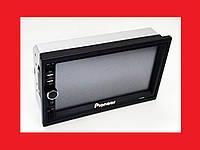 2din Магнитола Pioneer 7018 USB+SD+Bluetooth+ПУЛЬТ НА РУЛЬ (короткая база), фото 1