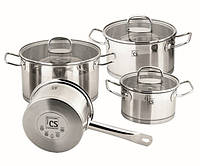 Набор посуды Herten из нержавеющей стали 7 шт