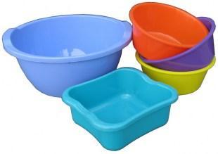 Миски пластмассовые кухонные