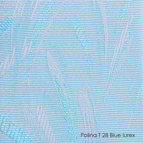 Вертикальные жалюзи Polina-28 blue lurex