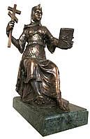 "Бронзовая статуэтка ""Княгиня Ольга"" (h-27x18cm)"
