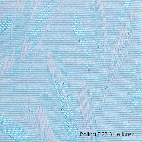Вертикальні жалюзі Polina-28 blue lurex