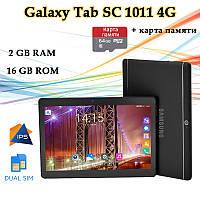 """Недорогой Планшет-Телефон Galaxy Tab SC1011 4G 10.1"""" IPS 16GB ROM GPS + Карта памяти 64GB, фото 1"""
