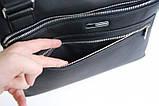 Мужской портфель. Мужская сумка. Сумки офисные. Магазин сумок. Сумки для мужчин, фото 8