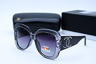 Солнцезащитные очки YSL 9637 серые, фото 1