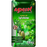 Удобрение для хвойных весна-лето Agrecol 15кг Польша