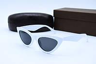Солнцезащитные очки в стиле Ретро белые, фото 1
