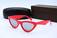 Солнцезащитные очки в стиле Ретро красные, фото 1