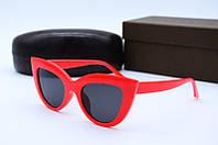 Солнцезащитные очки в стиле Ретро 3293 красные, фото 1
