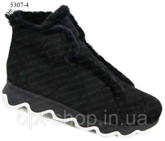женские зимние ботинки большого размера