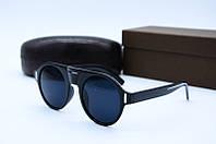 Солнцезащитные очки в стиле Ретро 9028 черные, фото 1