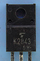 MOSFET N-канал 600В 10А Toshiba 2SK2843 TO220F