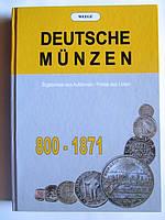Монети Німеччини 800-1871/ Вегге/ 2001