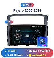 Junsun 4G Android магнитола для Mitsubishi Pajero 4 2006-2014 wifi