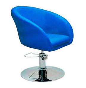Кресло парикмахерское Мурат P,  экокожа, цвет синий