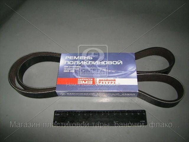 Ремень 6РК-1370 ДВС 406 с ГУР (Rubena) (покупн. ЗМЗ, пр-во Чехия) 406.1308020-01
