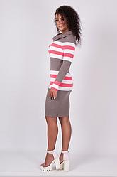 Повседневное Вязаное платье - Лариса