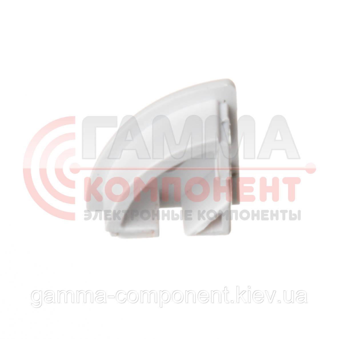 Заглушка для алюминиевого профиля ПФ-9 с отверстием