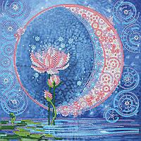Схема для вышивки бисером на натуральном художественном холсте Водная царевна