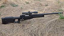 Игрушечная снайперская винтовка ZM52 на пульках, фото 3