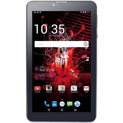 """ϞПланшет 7"""" LENOVO 1/16GB Black 4 ядра IPS экран GPS навигация Android 6 3000mAh 2SIM реплика, фото 2"""
