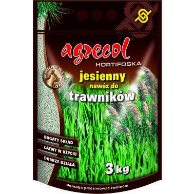 Удобрение Agrecol осеннее для газона, 3 кг.